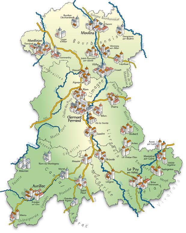 Auvergne Auvergne Properties